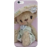 Willow - Handmade bears from Teddy Bear Orphans iPhone Case/Skin