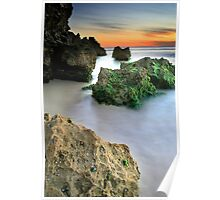 Trig Beach Sunset  Poster
