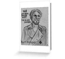 Kurt Knispel Greeting Card