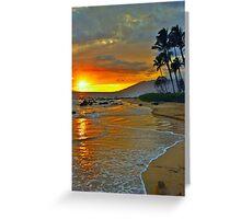 Maui Sunset 1 Greeting Card