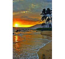 Maui Sunset 1 Photographic Print