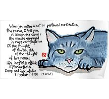 The Naming of Cats (Eliot's Cats Series) Poster