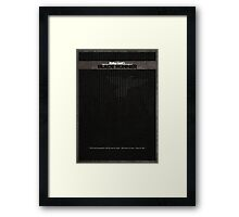 Blade Runner 2 Framed Print