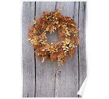Old Wreath Poster