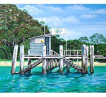 Currawong Beach Wharf Photographic Print