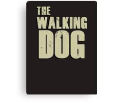 The walking dog Canvas Print