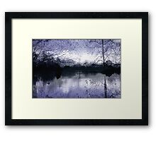 Winter's Silence Framed Print