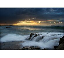 Stone and Sea Photographic Print