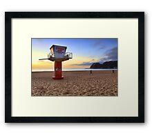South Avoca Beach sunrise Framed Print