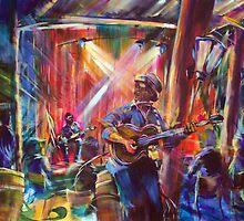 Guy Davis and Hatz Fitz live at Joe's Waterhole Eumundi by tola