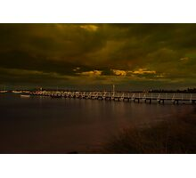 Camerons Bight Storm Photographic Print