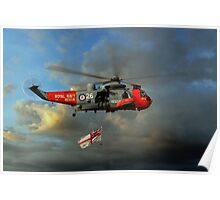 Royal Navy Search and Rescue (End of an Era) Poster