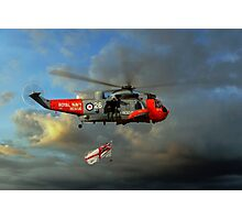 Royal Navy Search and Rescue (End of an Era) Photographic Print