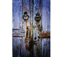 Beypazari Door Handle (White) Photographic Print