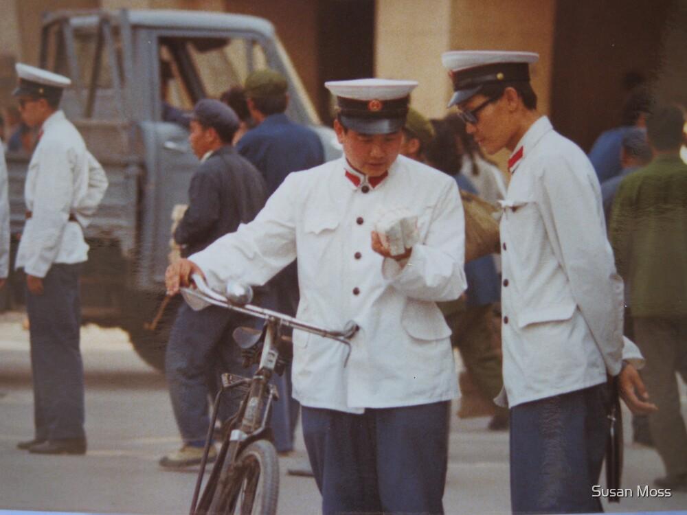 Beijing May 1981 -  Street Scene by Susan Moss