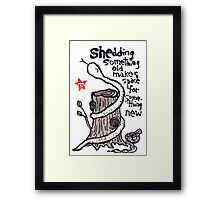 The Year of the Snake (#4) Framed Print