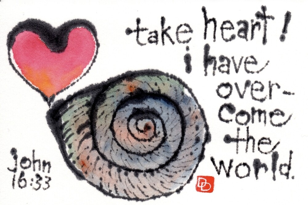 Take Heart (Sea Shell) by dosankodebbie