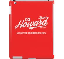 Team Howard iPad Case/Skin