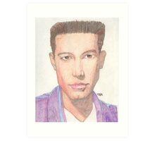 Actor Ben Affleck Art Print