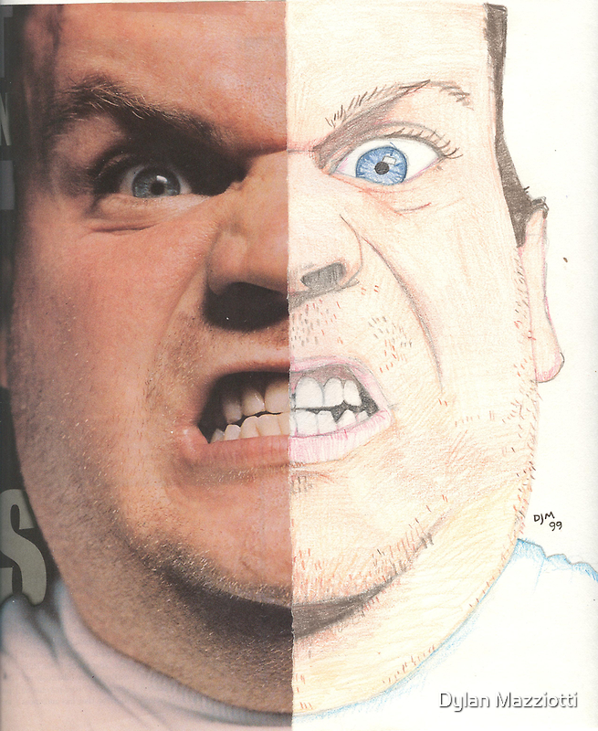 Actor Chris Farley by Dylan Mazziotti