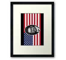 Freedom of speech Framed Print