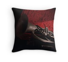 Father's Tuba Throw Pillow