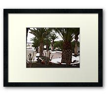 Plaza 4 Framed Print