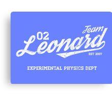Team Leonard Canvas Print