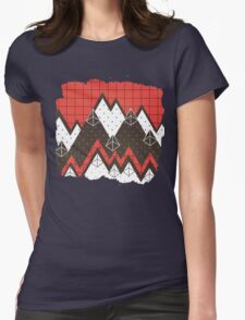 Moutains 2 Womens Fitted T-Shirt