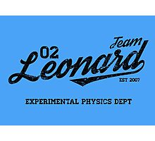 Team Leonard Photographic Print