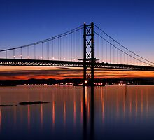 Forth Gloaming by Kirsty Hodge