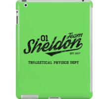 Team Sheldon iPad Case/Skin