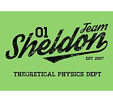 Team Sheldon Photographic Print