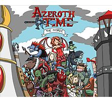Azeroth time - The Horde Photographic Print