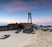 Redhead Beach, NSW Australia just before sunrise by Leah-Anne Thompson