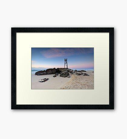 Redhead Beach, NSW Australia just before sunrise Framed Print