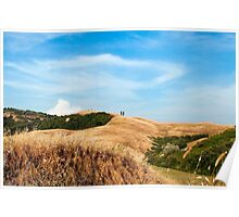 Tuscany View Poster