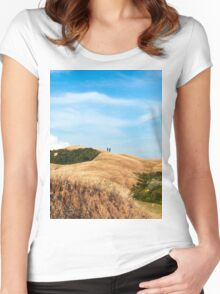 Tuscany View Women's Fitted Scoop T-Shirt