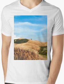 Tuscany View Mens V-Neck T-Shirt