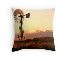 When the wind blows... Throw Pillow