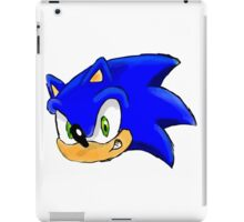 Sonic the Hedgehog. The Iconic Head iPad Case/Skin