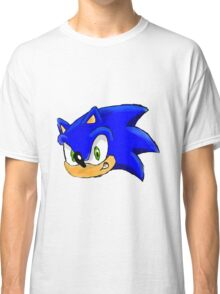 Sonic the Hedgehog. The Iconic Head Classic T-Shirt