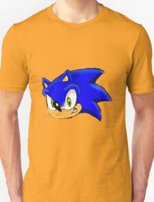 Sonic the Hedgehog. The Iconic Head T-Shirt