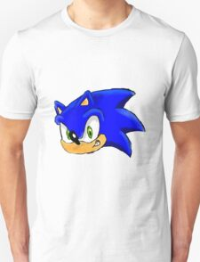 Sonic the Hedgehog. The Iconic Head T-Shirt