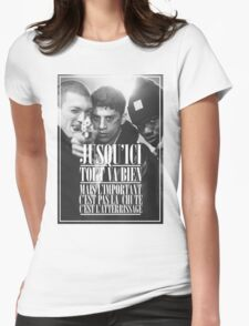 La Haine  Womens Fitted T-Shirt