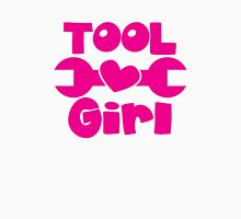 Tool Girl! with spanner  Womens Fitted T-Shirt