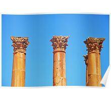 Corinthian Capitals Poster