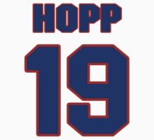 National baseball player Johnny Hopp jersey 19 by imsport