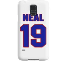 National baseball player Charlie Neal jersey 19 Samsung Galaxy Case/Skin