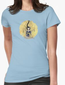Goddess of Robotic Geishas Womens Fitted T-Shirt